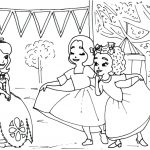 Princess Sofia the First Coloring Pages to Print Out for Girls - 87851