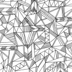 Printable Geometric Coloring Pages for Adults - 67381