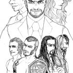 Printable wwe coloring pages - 23911