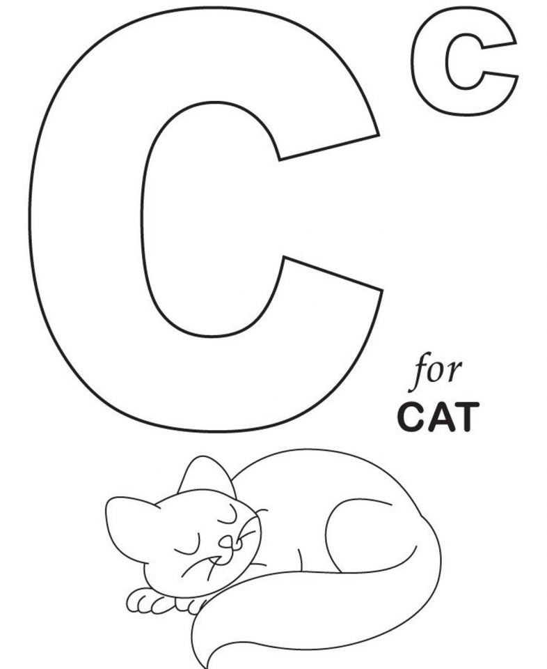 Get This Alphabet Coloring Pages