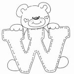 Alphabet Coloring Pages Kids Printable   09067