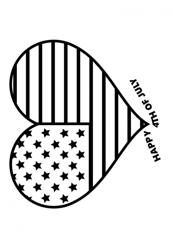 American Flag Coloring Pages for First Grade   08441