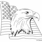 American Flag Coloring Pages Free to Print   85684
