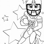 American Football Player Coloring Pages to Print Out   47217