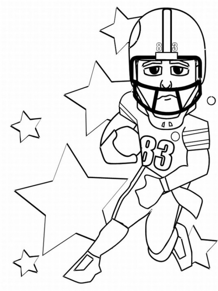 Get This American Football Player Coloring Pages to Print Out 47217 !
