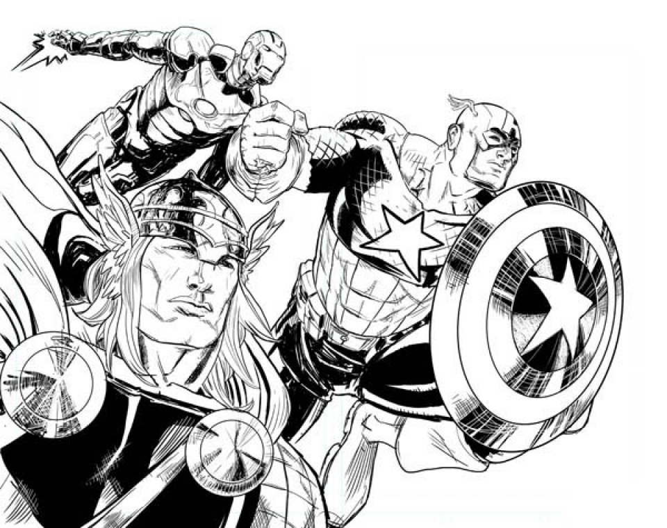Avengers Coloring Pages Free to Print   31759