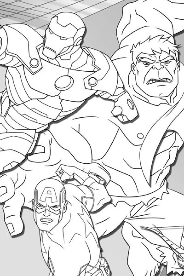 Avengers Coloring Pages Free to Print   89641