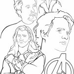 Avengers Coloring Pages Printable for Boys   41750