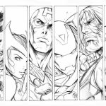 Avengers Coloring Pages Superheroes Printable   16743