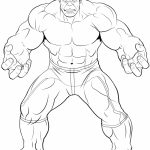 Avengers Coloring Pages The Hulk Printable   31675