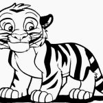 Baby Tiger Coloring Pages for Kids   59153