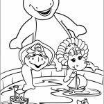 Barney Coloring Pages Printable for Kids   22781