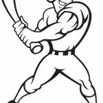 Baseball Coloring Pages for Kids   93864