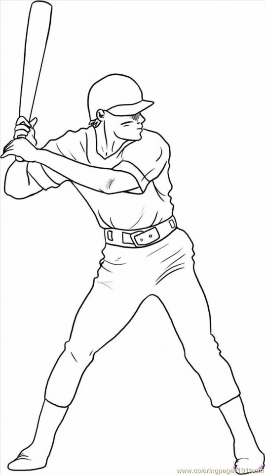 Baseball Coloring Pages Online   85739