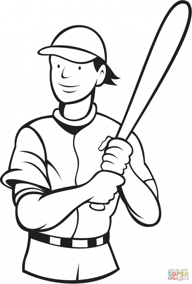 Baseball Coloring Pages to Print Out   46128