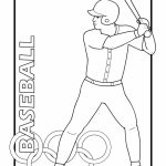Baseball Coloring Pages to Print Out   63778