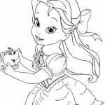Belle Coloring Pages Printable   41740