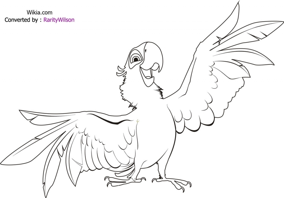 Bird Coloring Pages Free Online   57154