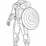 Captain America Coloring Pages Printable   21749