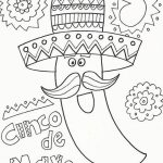 Cinco de Mayo Coloring Pages Childrens Printables   82176