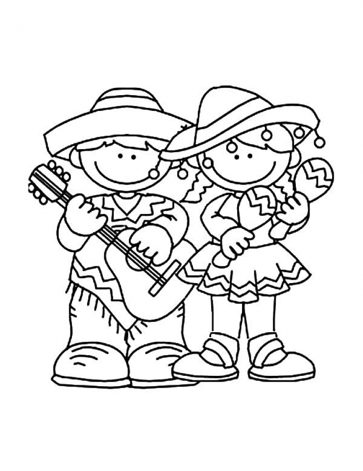 Fiesta word coloring pages for Fiesta coloring pages