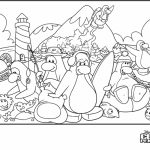 Club Penguin Coloring Pages   64139