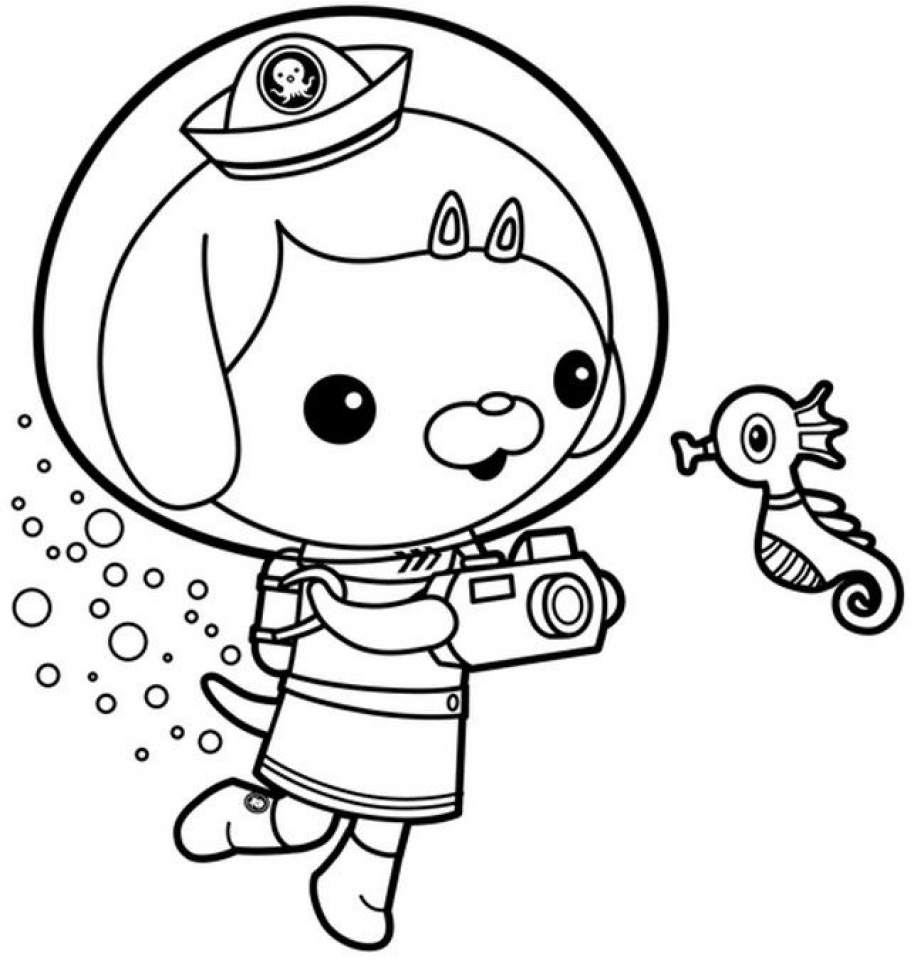 Get This Coloring Pages Of Octonauts 48860