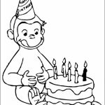Curious George Coloring Pages Free   68031
