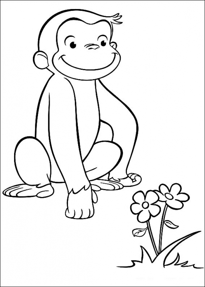 Curious George Coloring Pages to Print   41783