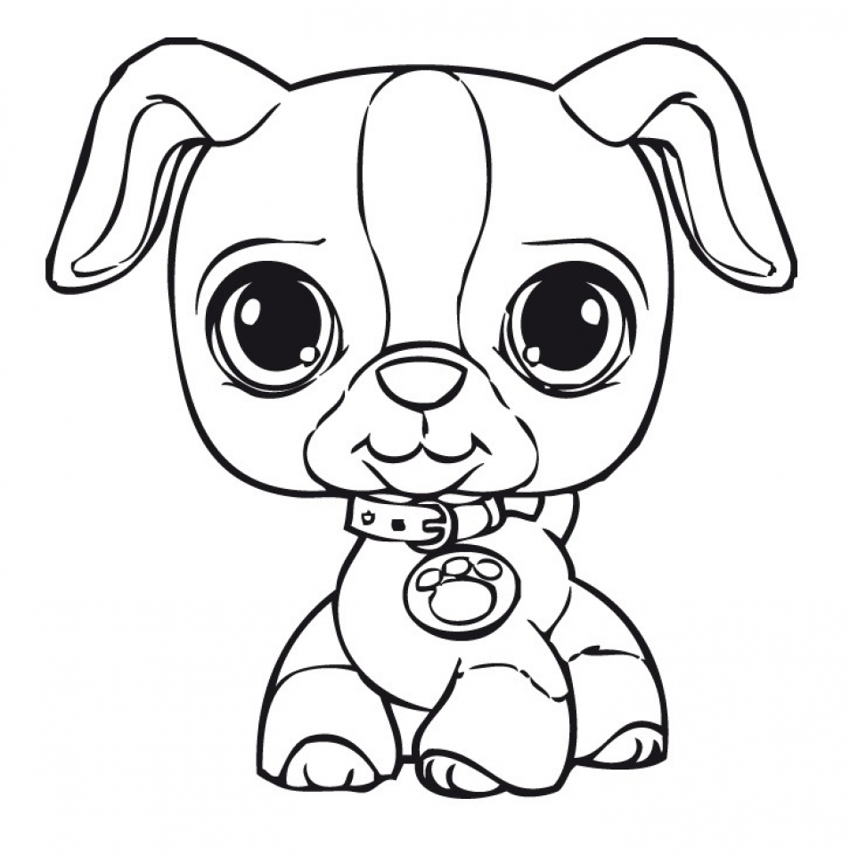 Get This Cute Coloring Pages of Littlest Pet Shop 36179