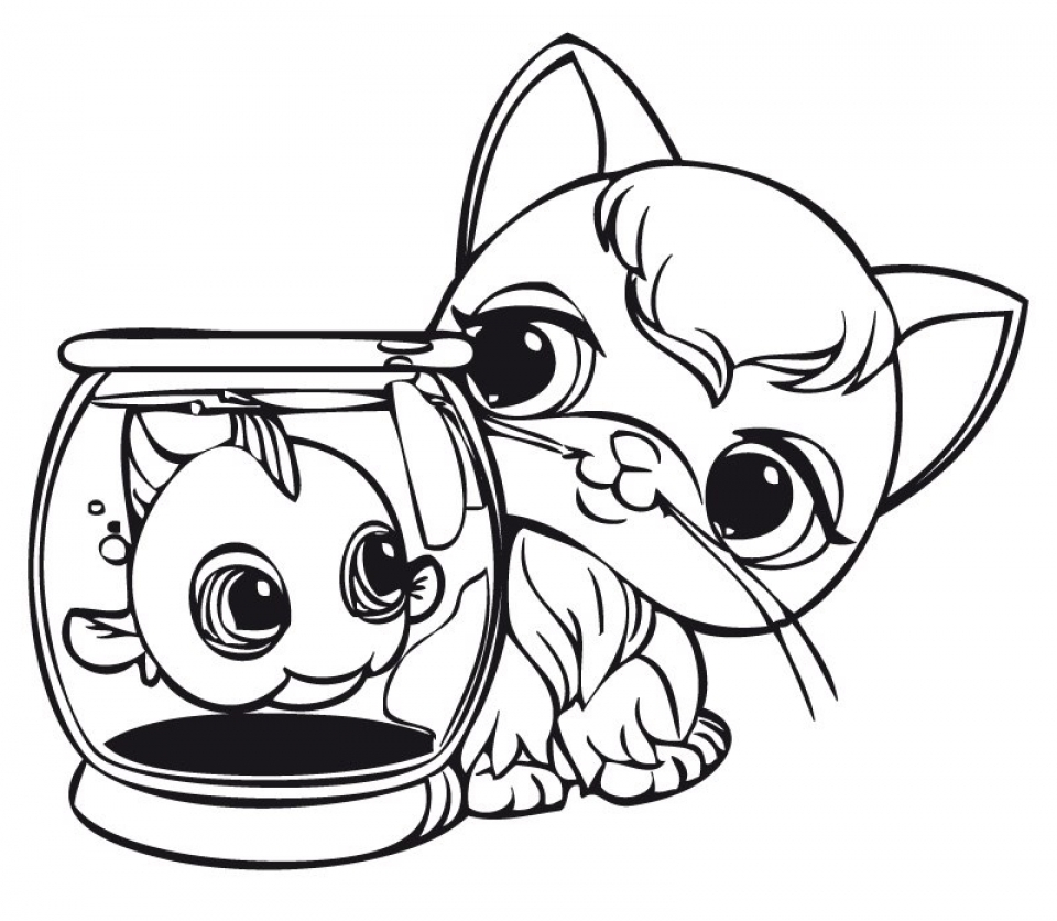 Get this cute coloring pages of littlest pet shop 84610 for Littlest pet shop printable coloring pages