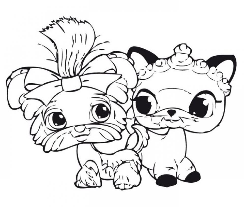 Littlest Pet Shop Coloring Pages Online