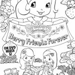Cute Strawberry Shortcake Coloring Pages to Print   21567
