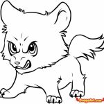 Cute Wolf Coloring Pages   72218