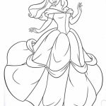 Disney Princess Belle Coloring Pages Online   73518