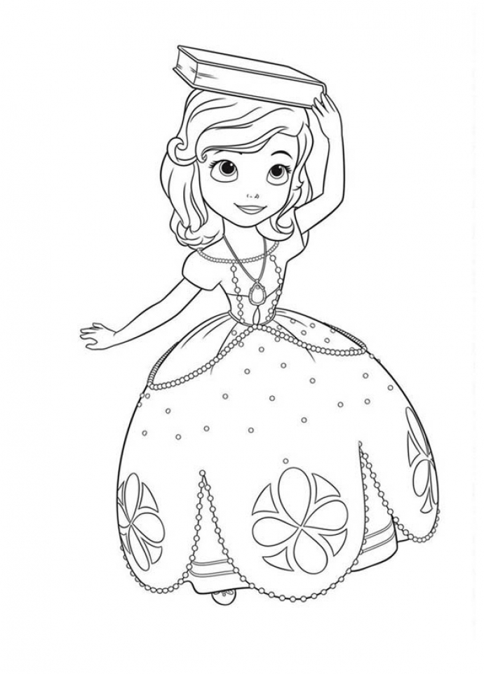 get this disney sofia the first coloring pages printable