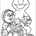 Elmo Coloring Pages for Toddlers   03167
