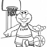 Elmo Coloring Pages Fun Kids Printable   41805