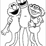 Elmo Coloring Pages Fun Kids Printable   60518
