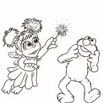Elmo Coloring Pages Printable for Toddlers   37593