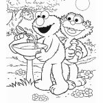 Elmo Coloring Pages Printable for Toddlers   61846
