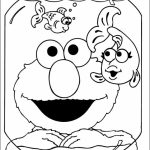 Elmo Coloring Pages Printable Free   26458