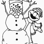 Elmo Coloring Pages to Print for Kids   17426