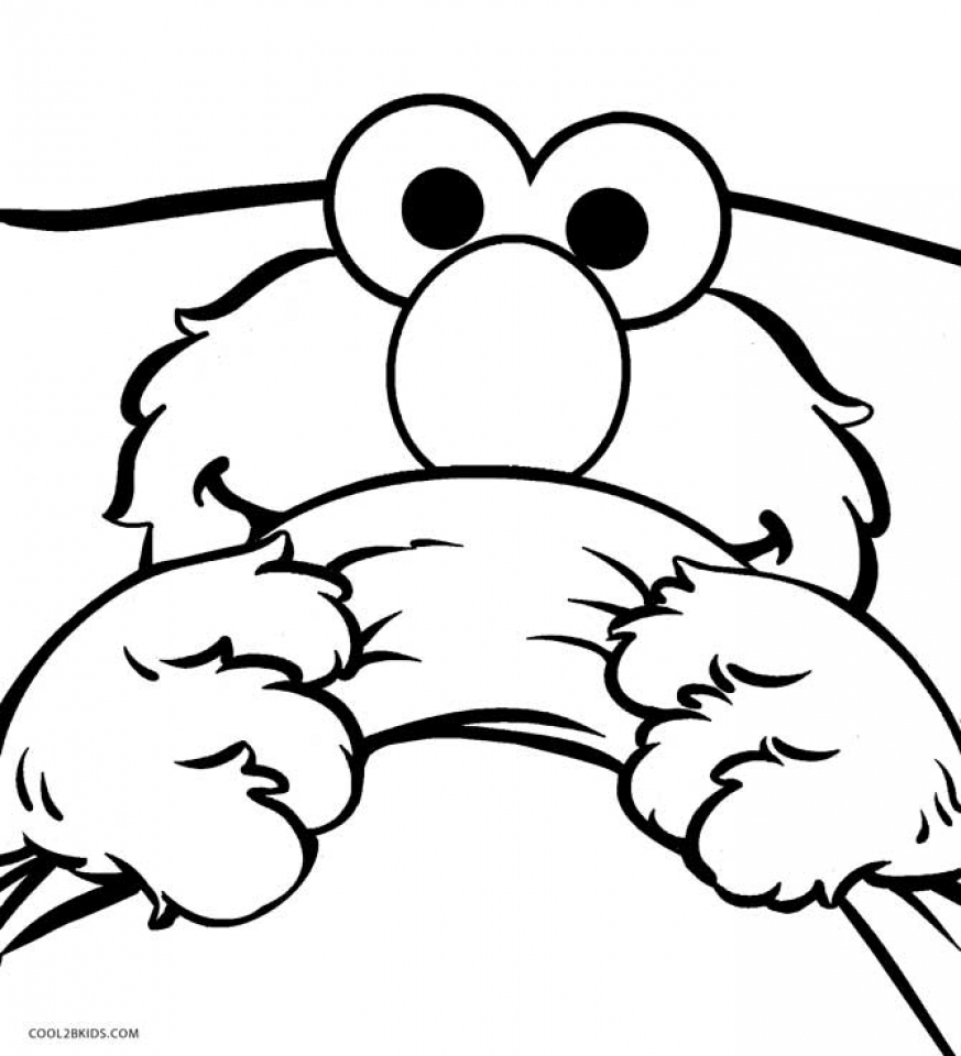 get this elmo coloring pages to print for kids 27718