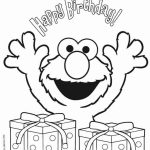 Elmo Coloring Pages to Print for Kids   31950