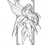 Fairy Coloring Pages Free Printable   35751