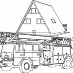Fire Truck Coloring Pages Free to Print   30018