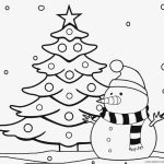 Free Christmas Tree Coloring Pages to Print   84259
