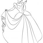 Free Cinderella Coloring Pages   46289