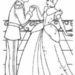 Free Cinderella Coloring Pages   64669